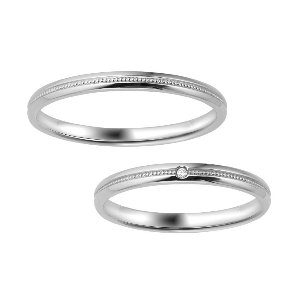 ポンテヴェキオのご結婚指輪をお作り頂きました!