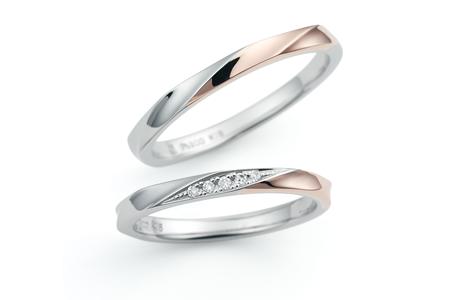 ノクルのご結婚指輪をお作り頂きました!