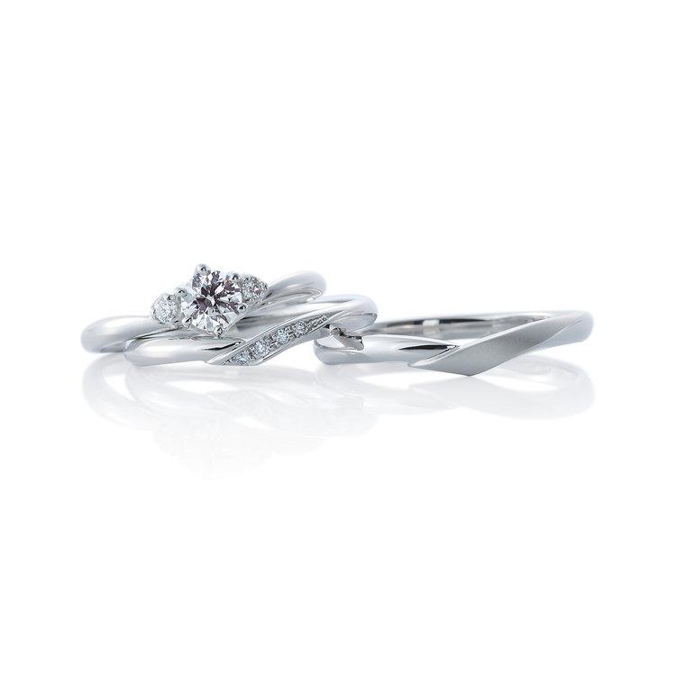 【飯田市】カフェリングのご結婚指輪をお求めいただきました!