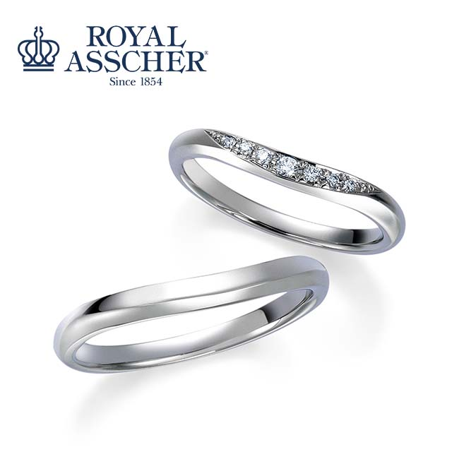 【妙高市、上越市】ロイヤル・アッシャーダイヤモンドのセットリングをご納品。