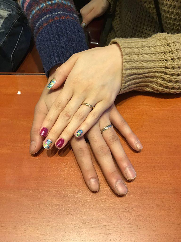 マカナのご結婚指輪をお作りいただきました!