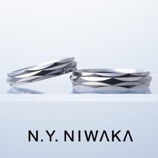 【上田市】N.YNIWAKAのご結婚指輪をお作り頂きました!