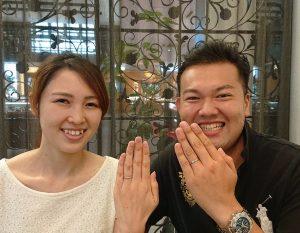 【長野市】杢目金屋の結婚指輪をご成約いただきました