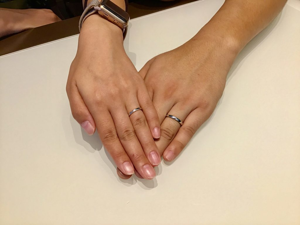 【飯田市】LUCIEのご結婚指輪をお作り頂きました!