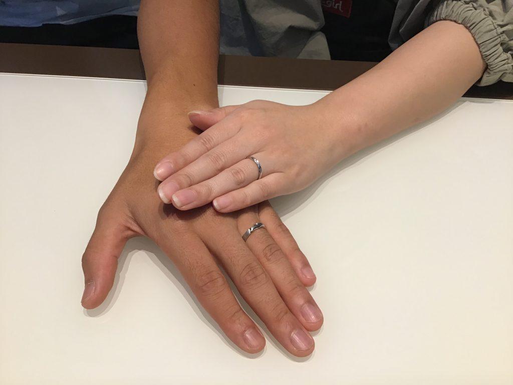 【飯田市】俄のご結婚指輪をお作り頂きました!