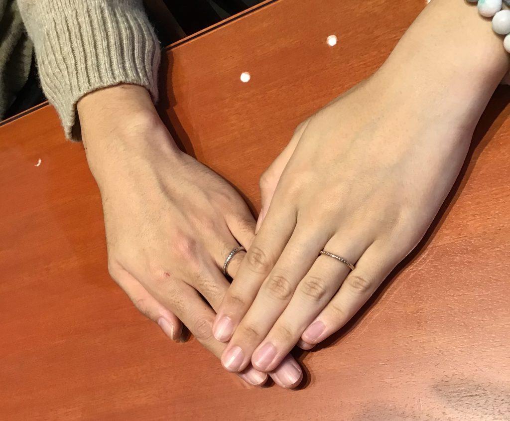 【飯田市】nocurのご結婚指輪をお作り頂きました!