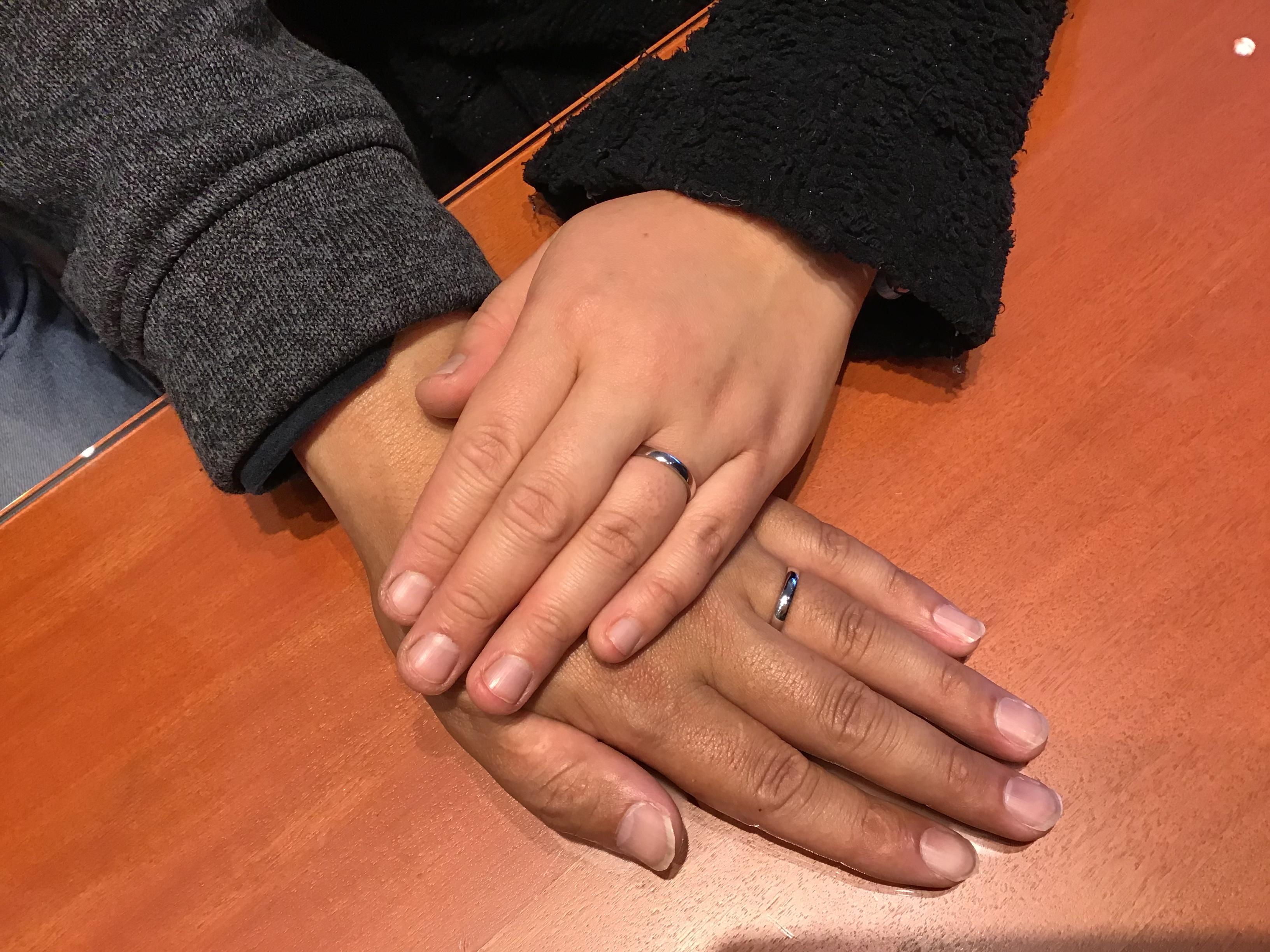 【飯田市】ルシエのご結婚指輪をお求めいただきました!
