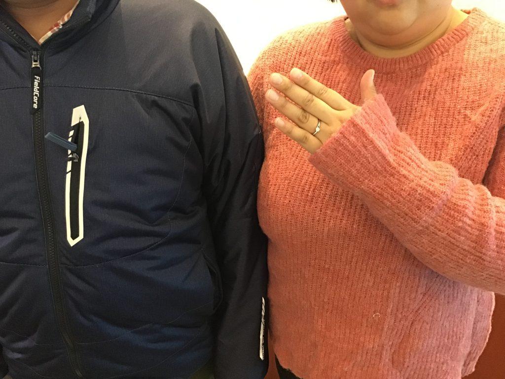 【飯田市】俄のご婚約指輪をお作りいただきました!