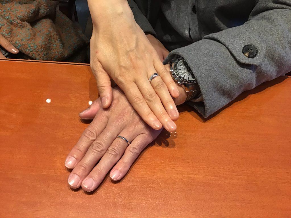 【飯田市】俄のご婚約指輪、ご結婚指輪をお求めいただきました!