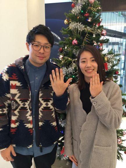 【長野市】俄(ニワカ)のご結婚指輪をお作り頂きました