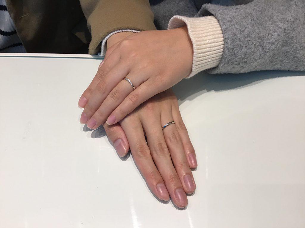 【飯田市】LUCIEのご結婚指輪をお作りいただきました!
