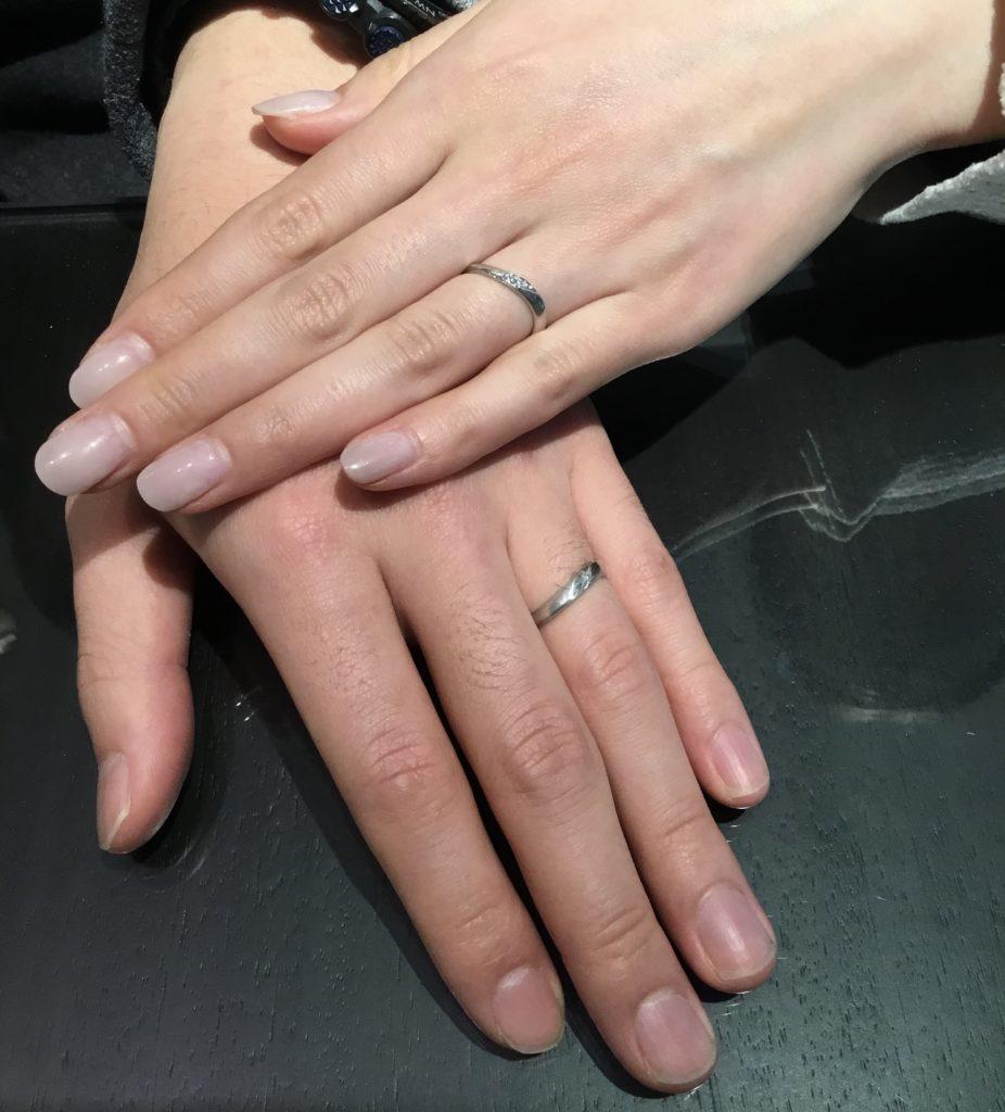 【松本市】杢目金屋のご結婚指輪をお作り頂きました!