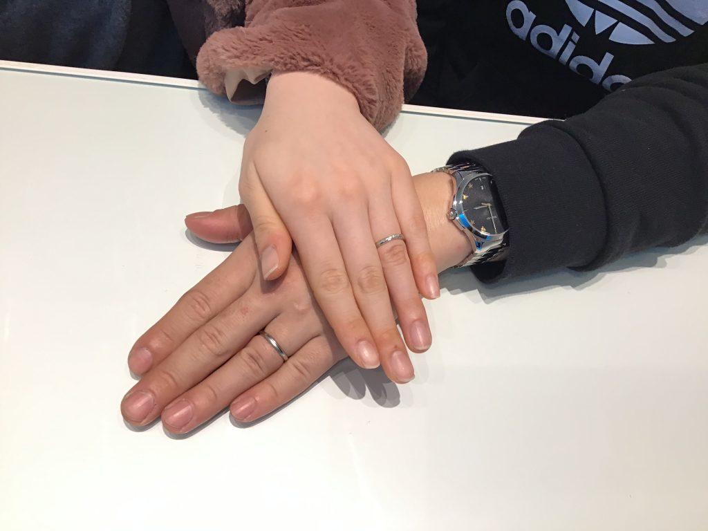 【飯田市】プチマリエのご結婚指輪をお求めいただきました!