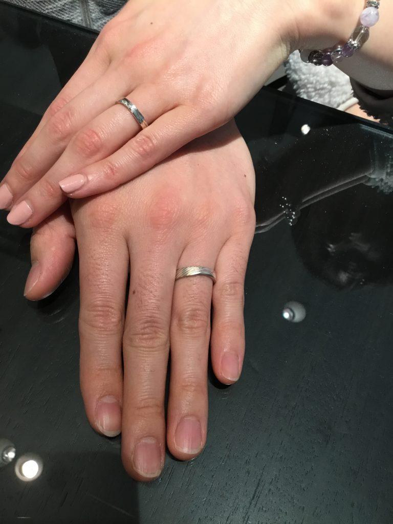 【中野市】杢目金屋のご結婚指輪をご納品させて頂きました!