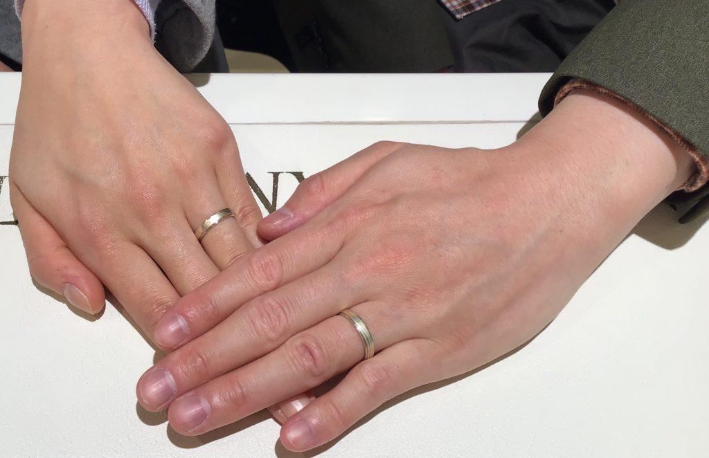 【長野市】杢目金屋のご結婚指輪をお作り頂きました!