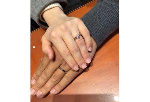 【飯田市】俄のご結婚指輪、ご婚約指輪をお求め頂きました!