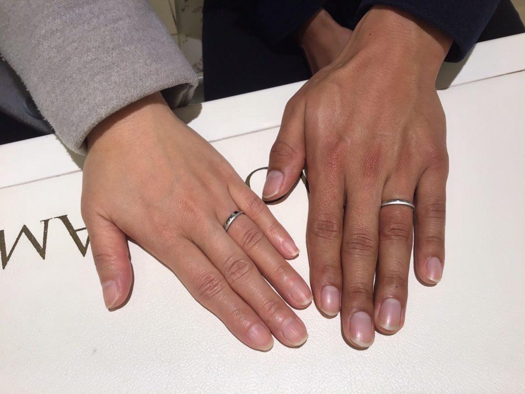 【山ノ内町】イージーエフのご結婚指輪をお作り頂きました!