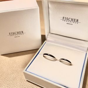 【上田市】フィッシャーの結婚指輪をお作り頂きました!