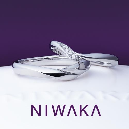 【長野市】カフェリングの婚約指輪、結婚指輪、俄の結婚指輪をお作り頂きました!