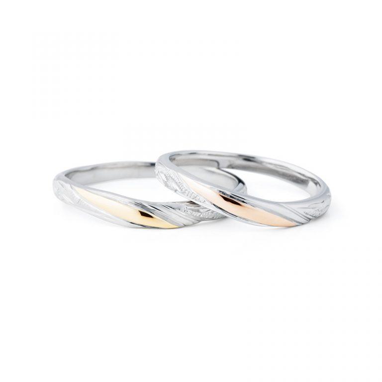 【小諸市】プライベートビーチの結婚指輪をお作り頂きました!