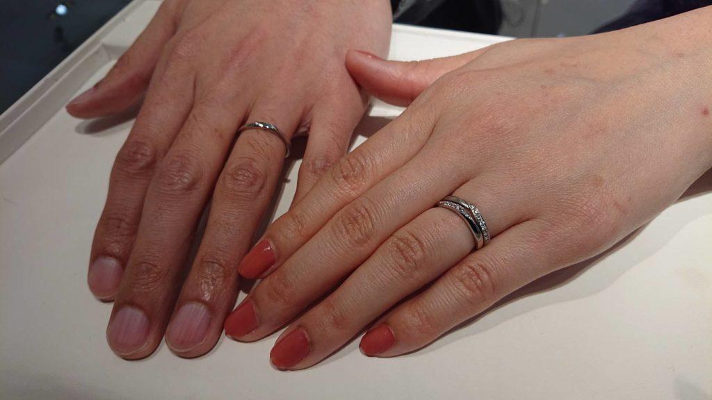 【長野市】カフェリングの指輪をお作り頂きました!