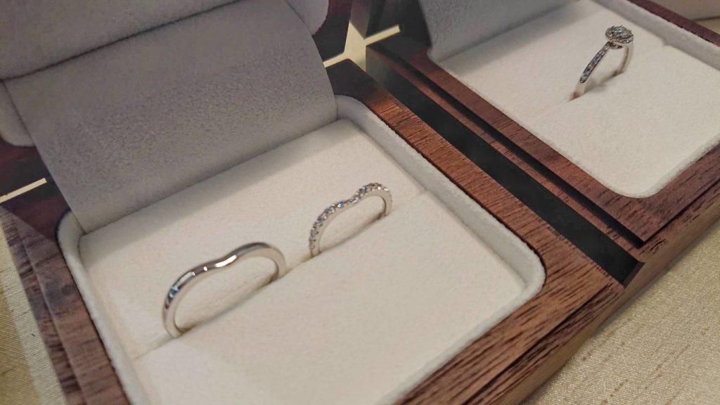 【長野市】ポンテヴェキオの婚約指輪、結婚指輪をお作り頂きました!