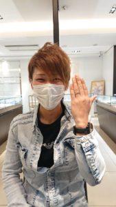 【長野市】杢目金屋の結婚指輪をお作り頂きました!