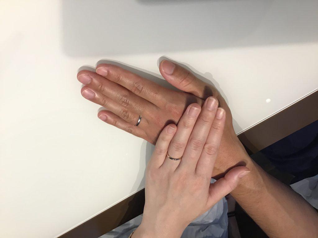 【飯田市】ロイヤルアッシャーの結婚指輪をお作り頂きました!