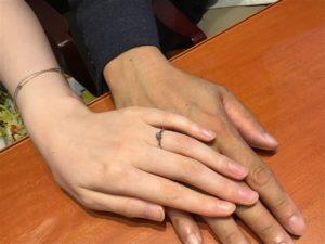 【飯田市】俄の婚約指輪をお作り頂きました!