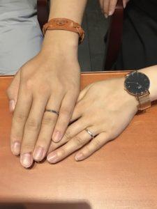 【飯田市】俄の結婚指輪をお作り頂きました!