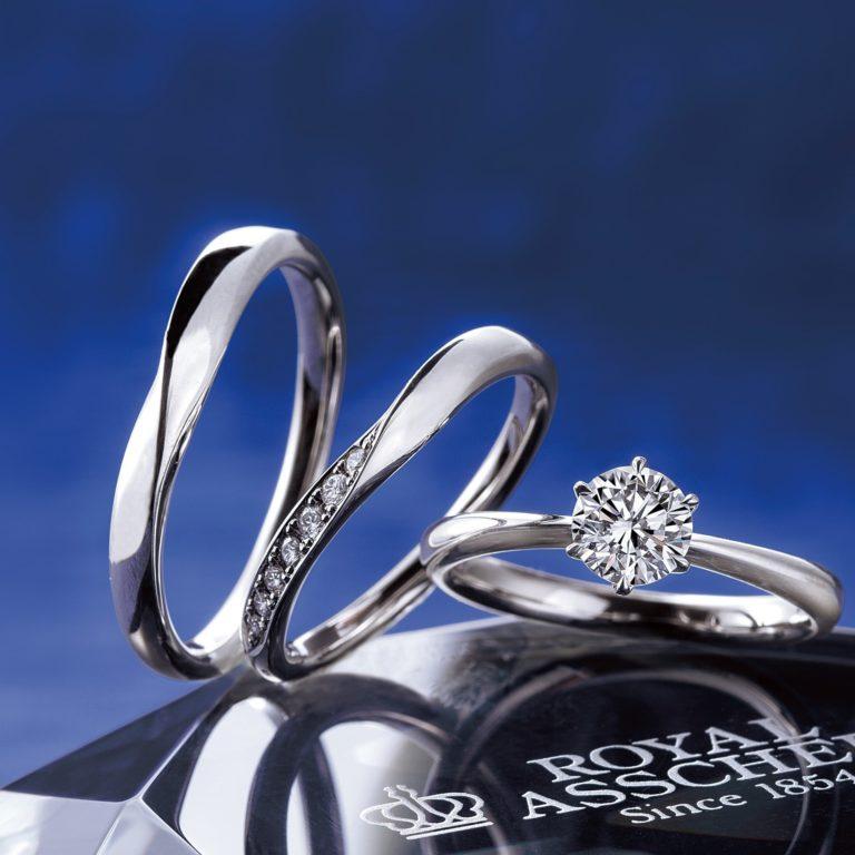 ERA251 WRA059 WRB069|ロイヤルアッシャー婚約指輪・結婚指輪