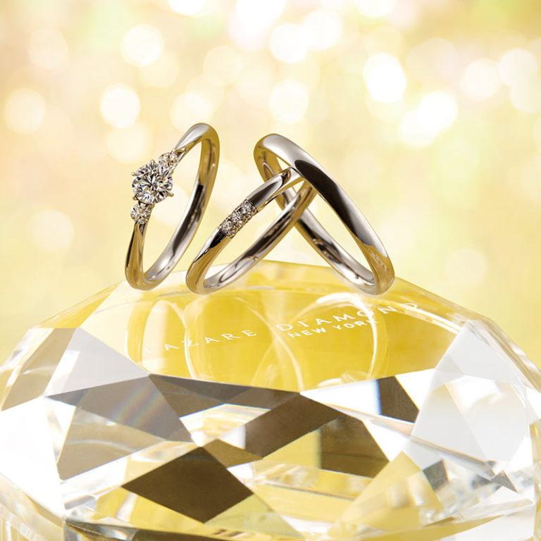 LILIES(リリーズ) FH001PR FH004PR|ラザールダイヤモンド婚約指輪・結婚指輪