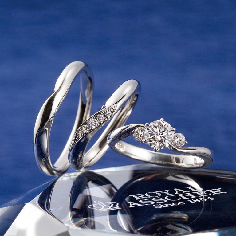 ERA680 WRA009 WRB013|ロイヤルアッシャー婚約指輪・結婚指輪
