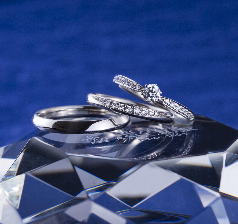 ERA815 WRA065 WRB075|ロイヤルアッシャー婚約指輪・結婚指輪
