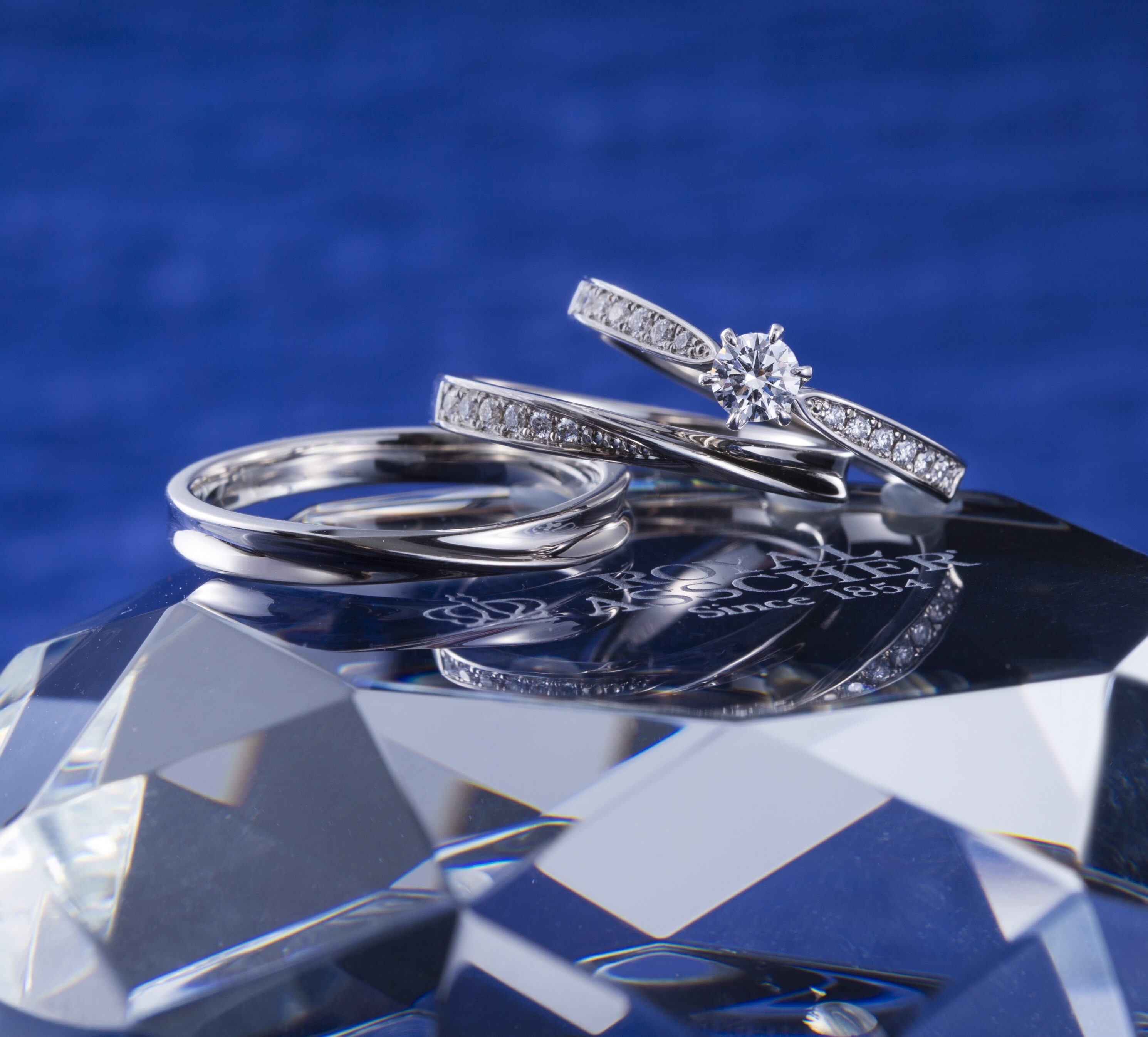 ERA806 WRA050 WRB060|ロイヤルアッシャー婚約指輪・結婚指輪